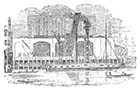 Wharf at St. Katharine's Dock 1831