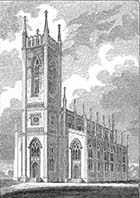 Trinity Church [Steel engraving by W. Edmunds] 1831 | Margate History
