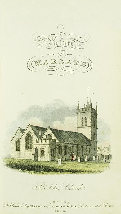 Front Page St Johns Church | Margate History