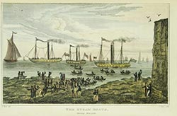 The Steam Boats, leaving Margate | Margate History