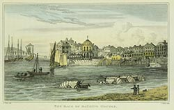 The back of Bathing Houses | Margate History