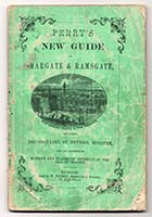 Perry's New Guide of Margate and Ramsgate [Cover; 1861] | Margate History