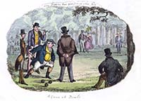 A game of Bowls 1829 | Margate History