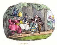 Breakfast at Ranelagh Gardens 1829 | Margate History