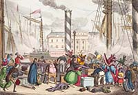 Settling your luggage on board 1829 | Margate History