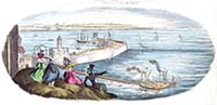 Sketch from the Fort 1829 | Margate History