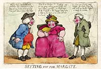 Setting out for Margate Rowlandson 1812 | Margate History
