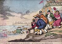 Summer Amusement at Margate, Or a Peep at the Mermaids [1815] | Margate History