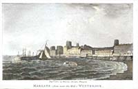 Margate fom near the Mill Westbrook 1802 | Margate History