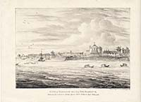 View of Margate taken from the Harbour Bettison 1820s | Margate History