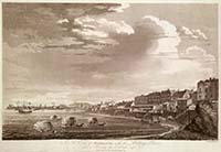 A View of Margate, with the Bathing Place; from a drawing by T. Smith 1786