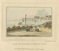 Battery at Broadstairs Noel 1797