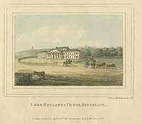 Lord Holland's House, Kingsgate Noel 1797