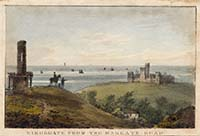 Kingsgate from the Margate Road [Polygraph 1825-1828] | Margate History
