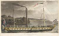 London Engineer Steam Yacht 1819