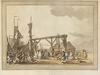 Loutherbourg Arrival of Hoy 1801 | Margate History