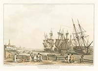 Loutherbourg Margate from Parade 1808 | Margate History