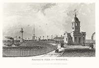 Margate Pier and Harbour Dugdale 1840
