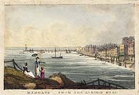 Margate from the London Road [Polygraph: 1825-1828]  | Margate History