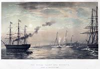 Royal Yacht off Margate 1863