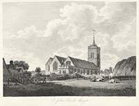 St Johns Church Pouncy 1800