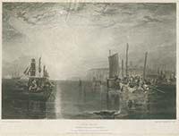 Sun rise Whiting Fishing at Margate - Turner | Margate History