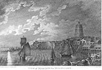 View of Margate by Moonlight 1790