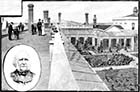 Royal Seabathing Hospital 1882: Terrace Roof of New Wing, and Central Quadrangle | Margate History