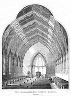 New Congregational Church, Margate: Interior [Union Crescent] 1858 | Margate History