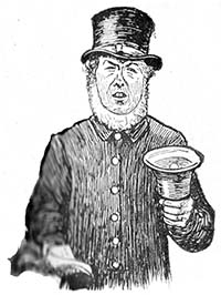 Richard Tappenden Judy town crier 1882 | Margate History