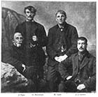 The names of the four survivors are Robert Ladd, Henry Brockman, John James Gilbert, and J. Epps 1897 | Margate History