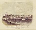 Marine Parade Margate from the Pier, 6 July 1857 | Margate History
