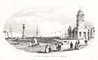 T. H. Keeble: S.W. View of Margate Pier and Harbour | Margate History