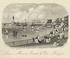 Lower Marine Parade and Pier, 27 May 1868 | Margate History