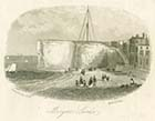 Cold Harbour and steps to Fort [Rock April 2 1853] | Margate History