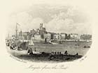 Margate from the Pier, 11 May  1861 | Margate History