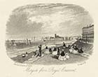 Margate from Royal Crescent,  22 January 1861 | Margate History