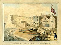 A view from the Pier at Margate  Keate 1779 | Margate History