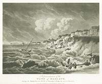 Storm 1808 Representation of the Town | Margate History