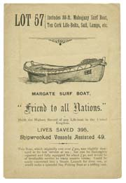 Sale of Surfboat | Margate History