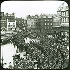 Surfboat Funeral Crowd on the Parade | Margate History
