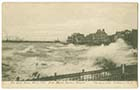 Storm March 1906 from Marine Terrace | Margate History