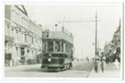 Tram Northdown Road opposite Spurgeons Home | Margate History