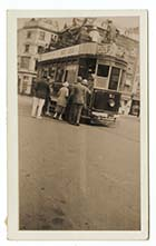 Parade boarding a tram | Margate History