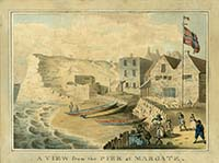 Pier at Margate  Keate 1779 | Margate History