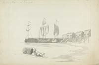 Bathing Houses at Margate [Burney - Yale Univ.] | Margate History
