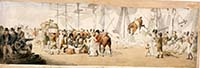 Embarking troops and horses at Margate ca 1800 [NMM] | Margate History