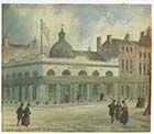 Hawley Square watercolour Thomas Wakeman ca 1800 | Margate History