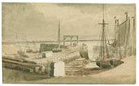 Margate Pier at Low water ca 1790 | Margate History