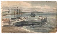 Part of the New Pier at Margate July 12 1812 | Margate History
